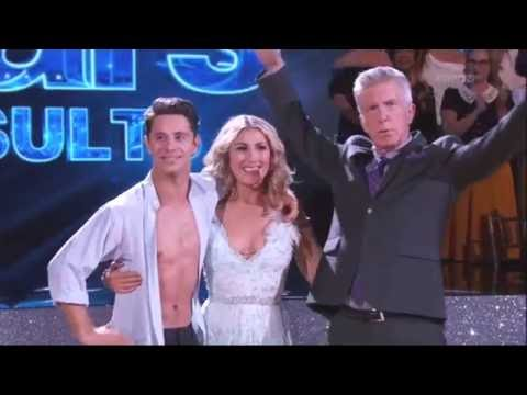 Sasha Farber proposes to Emma Slater live on air on DWTS 10 4 16 part 1