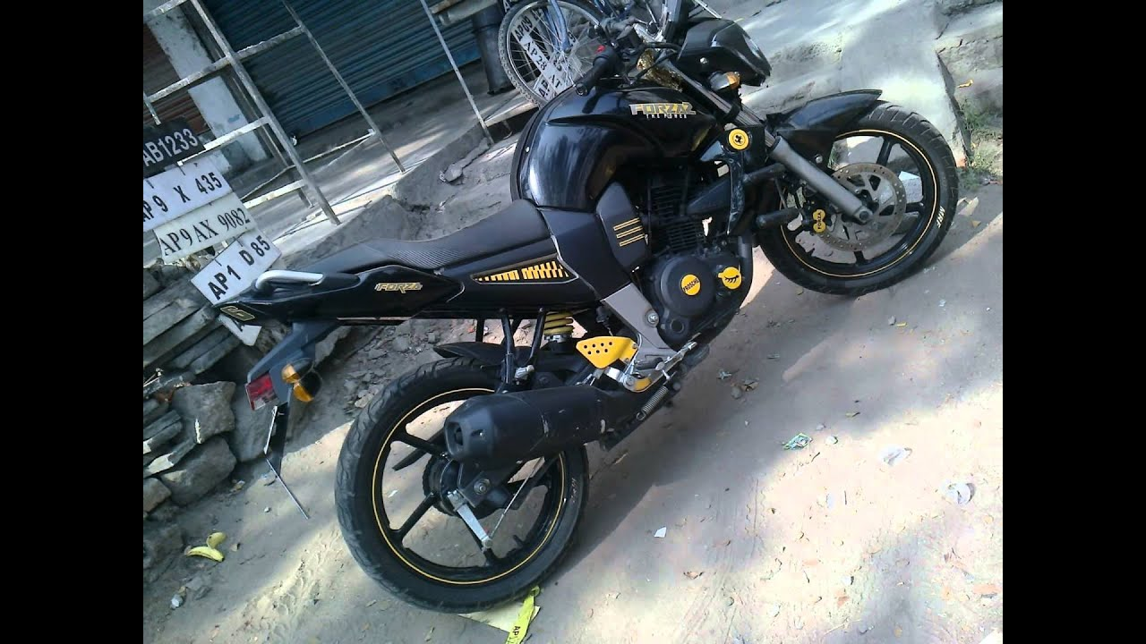 bikes modified anjaneyam radium decors, pillar No 102, atta pur