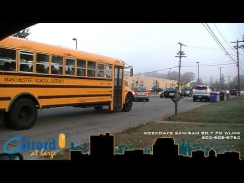 Girard at Large Secret Spy Cam at Mememorial High School Drop Off