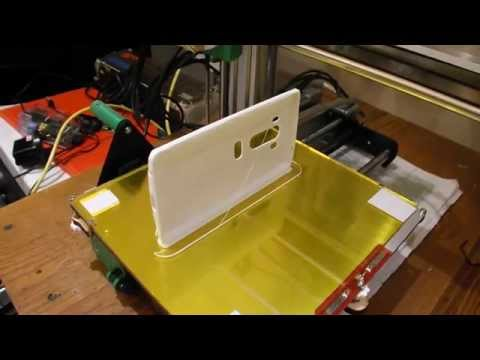 3D Printing a phone case for an LG G3 mobile phone