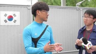 ダイナミクジルジュのユン・ジュヨン厩務員.