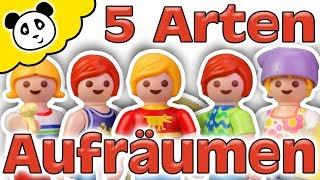 Playmobil Familie - 5 Arten von Aufräumen - Playmobil Film