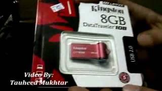 Kingston 8GB DT108 USB Flash Drive