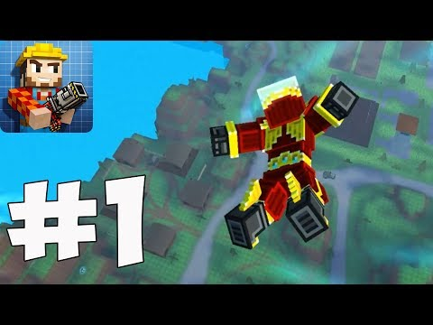 Pixel Gun 3D: Battle Royale - Gameplay Part 1 - New Update 15.2.0( IOs, Android)