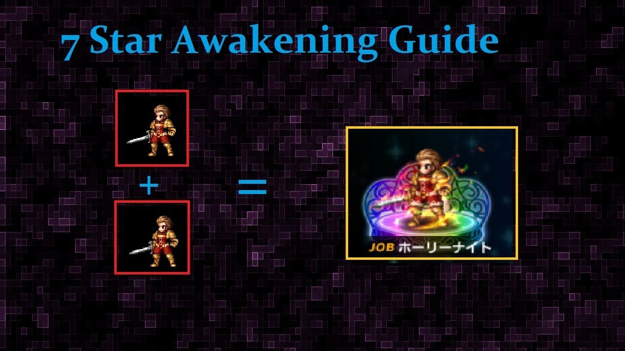 Ffbe Best Tmr 2021 7 Star Unit Awakening Guide   YouTube