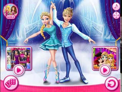 Мультик игра Эльза и Джек: Ледяной балет (Ellie and Jack Ice Ballet Show)