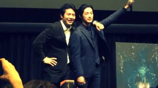 "DEAN FUJIOKA and KEN OCHIAI ""NINJA THE MONSTER"" Photo session (7th ..."
