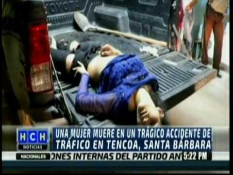 Pasajera de moto falleció durante accidente en Tencoa, Santa Bárbara