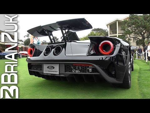 2017 Ford GT Start Up and Revs