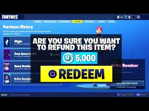 *NEW* Improved REFUND SYSTEM! | Trade Skins For VBUCKS! ( Fortnite How To )
