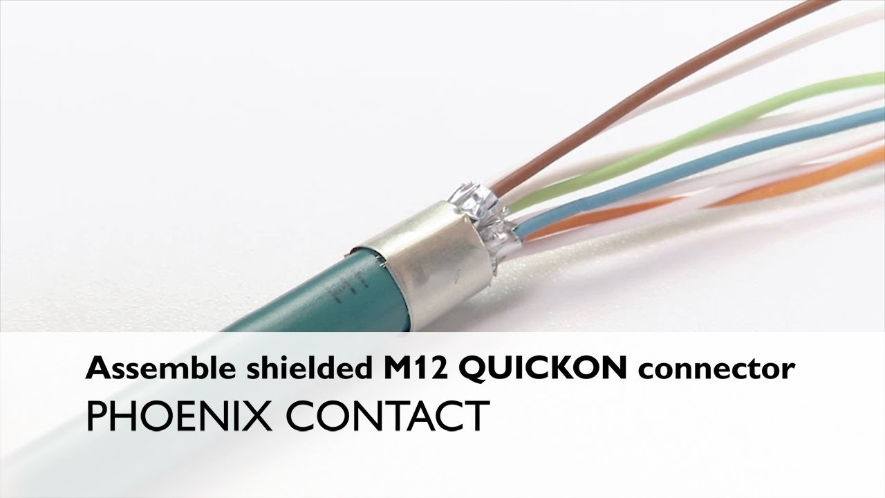 wiring harness m12 phoenix contact manufactures industrial electronic connector products wiring harness melted phoenix contact manufactures industrial