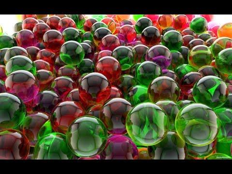 Как изготавливают стеклянные шарики Кошачий глаз