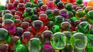 видео Развивающие игры со стеклянными шариками марблс