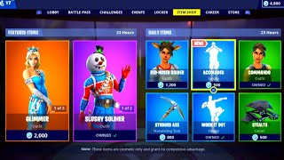 *NEW* ACCOLADES EMOTE! - Fortnite Daily Item Shop! [December 26] Slushy Soldier Skin Returns