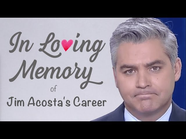 In Loving Memory of Jim Acostas Career