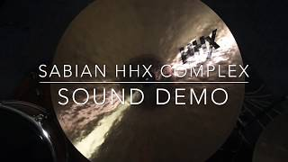 "Sabian 18"" HHX Complex Thin Crash Cymbal - Sound Demo"
