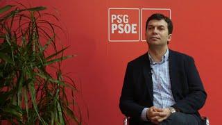 """Caballero ve al PSdeG """"en condiciones"""" de ser primera fuerza en Galicia"""