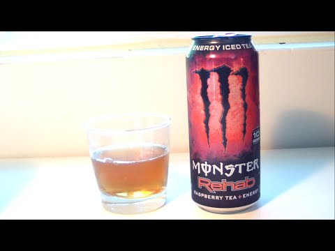 "TPX Reviews - ""Monster Energy: Rehab (Raspberry Tea)"""
