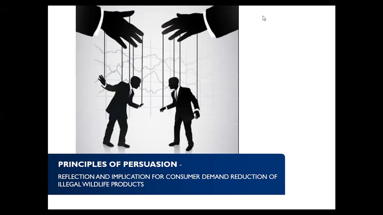 Principle Of Persuasion 8 Am Est 1 Pm Gmt 7 Pm Ict May 21 2018