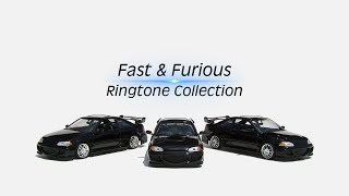 Fast & Furious Ringtone Collection |Download Now|