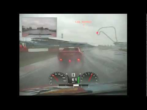 2012 Pirelli Ferrari Classic - Silverstone - Race 3 from 308GT4 No 46