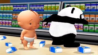 Baby Play Supermarket | Learn To Be Polite | Fun Educational Games For Kids