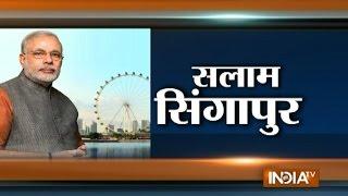 PM Modi in Singapore: Grand Preparations for Modi