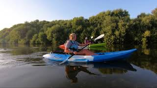 Kayaking in Al Zorah Nature Reserve