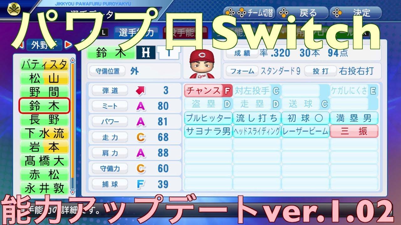 Switch パワプロ
