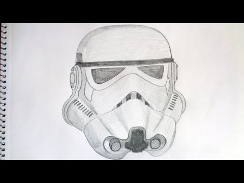 How to draw stormtrooper Star Wars