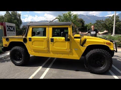 Вот почему Hummer H1 Alpha - это самый крутой внедорожник за $200 000
