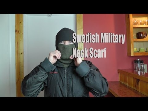Swedish Military Neck Scarf - Military Surplus Preview