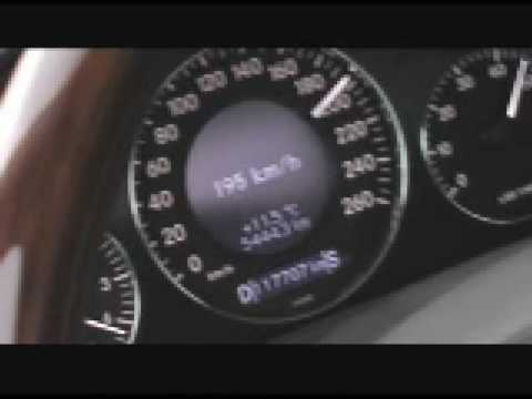 Mercedes-Benz E500 0-260km/h