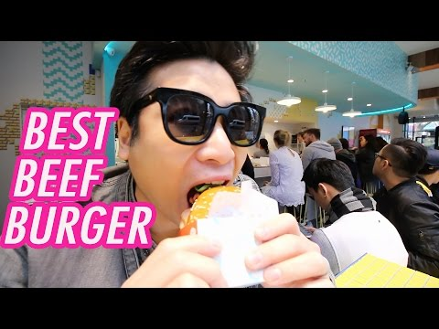Best beef burger in MELBOURNE