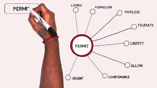 Permit - Thesaurus - Synonyms - Video