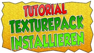 Tutorial: Texture-Pack installieren | Rockkartoffel | deutsch