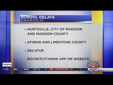 School Delays And Closings, Nov. 12