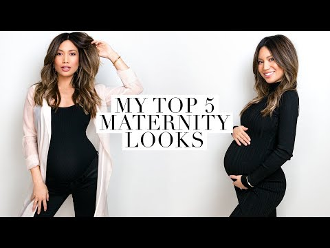 Download Youtube: Pregnancy Style Lookbook 2017 | My Top 5 Looks!