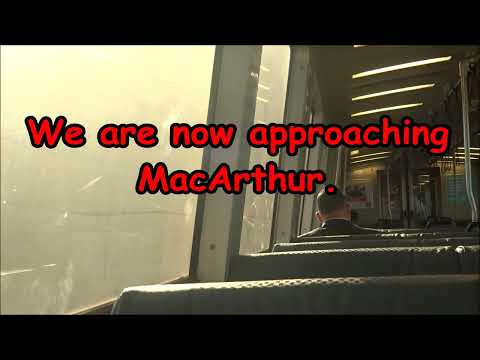 Travelling with BART from Richmond to Millbrae (Full Journey)
