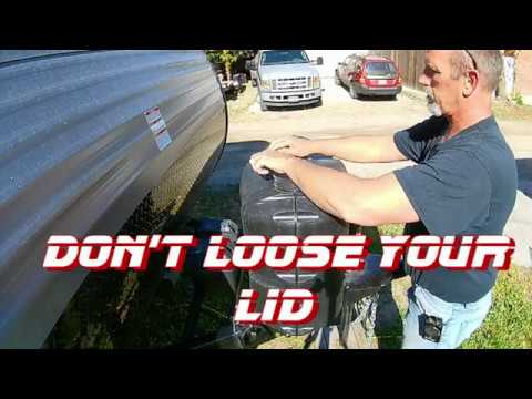 Don T Loose Your Lid On Your Propane Cover Youtube