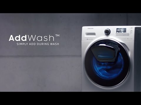 Samsung AddWash™ - Waschmaschine How To Video - Swiss German - 4K