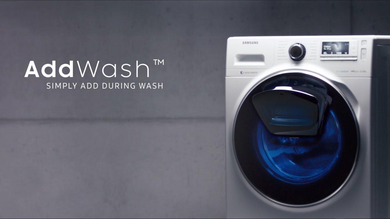 samsung addwash waschmaschine how to video swiss german 4k youtube. Black Bedroom Furniture Sets. Home Design Ideas