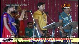 Chetak 2011 HQ Garba  Amit Patel at AATHAM - part1