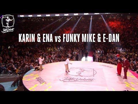Locking battle quarter final : Karin & Ena...