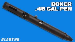 boker 45 cal tactical pen review