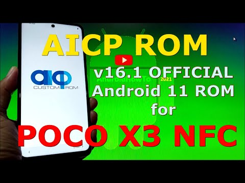 AICP 16.1 OFFICIAL for Poco X3 NFC (Surya) Android 11