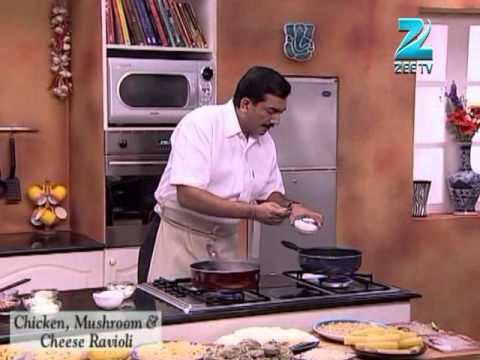 Khana Khazana Ramzan Special – Chicken, Mushroom & Cheese Ravioli