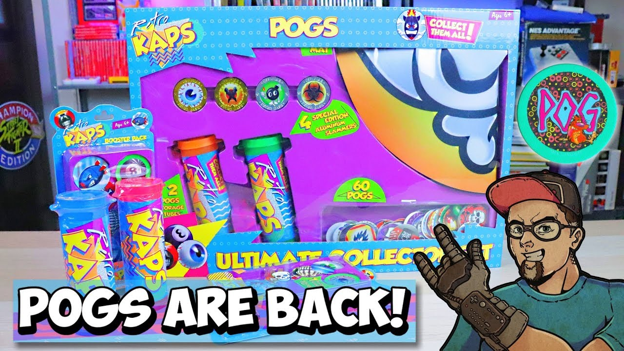 POGS Are Back! Schoolyard Gambling At Its Finest! Retro Kaps!
