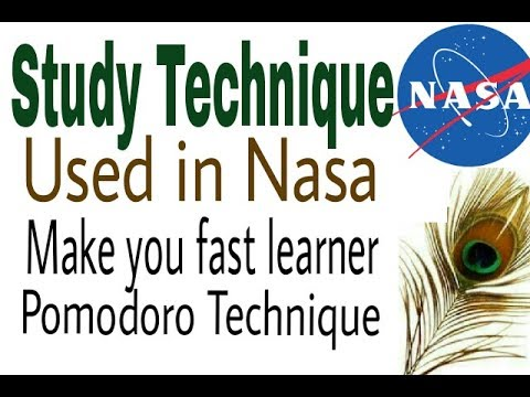 Study technique used in Nasa || Best Technique to study like topper || pomodoro Techniques