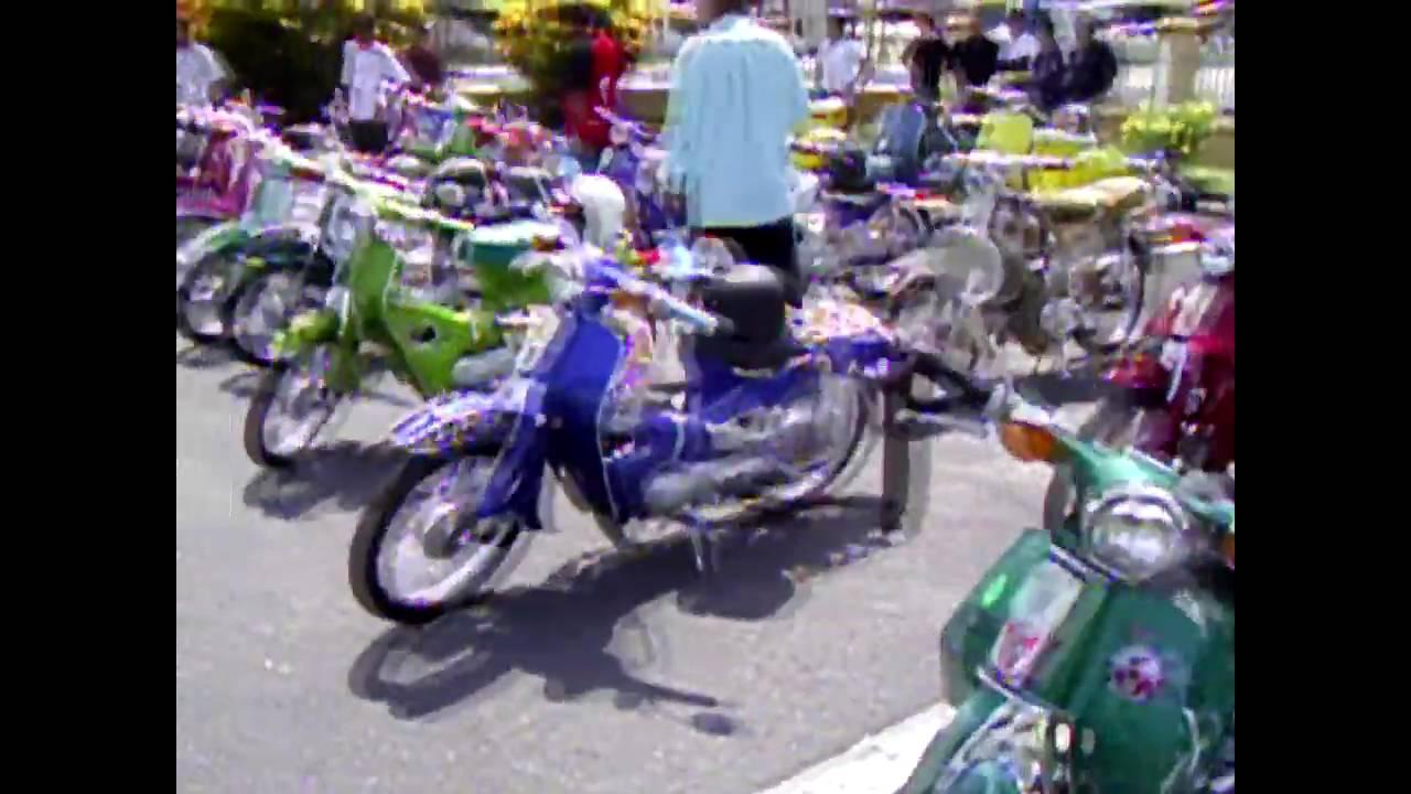 Motor Honda Klasik C70 Kelantan (modified Habis)